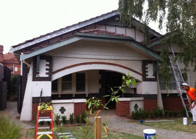 Heritage style home - external painting