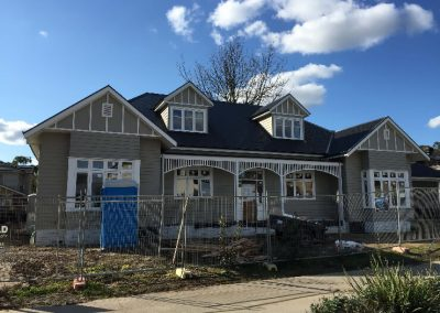 Exterior & interior painting on a newly constructed home