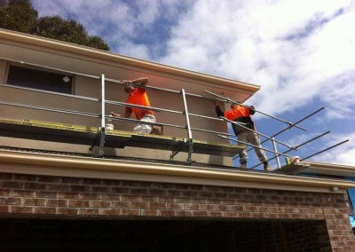 Residential house painting - brand new house exterior