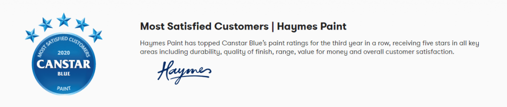Canstar Haymes Review